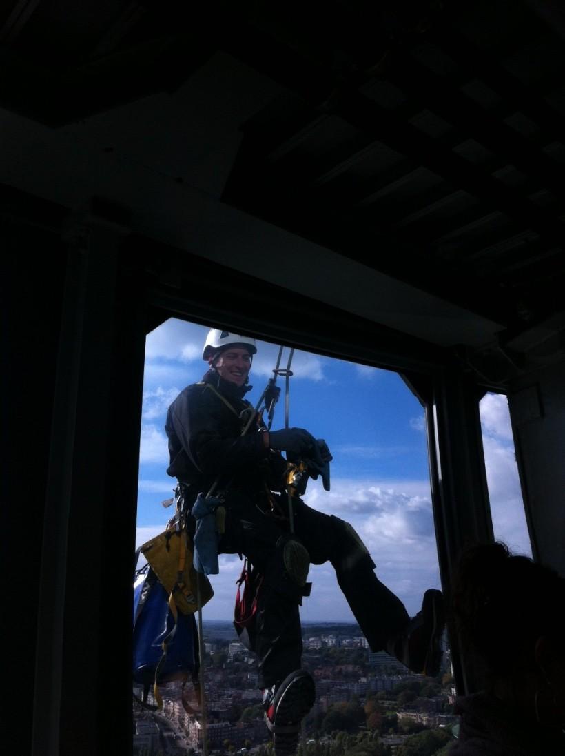 Joey McIntyre Was Outside The Window!